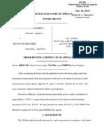 United States v. Melcher, 10th Cir. (2010)