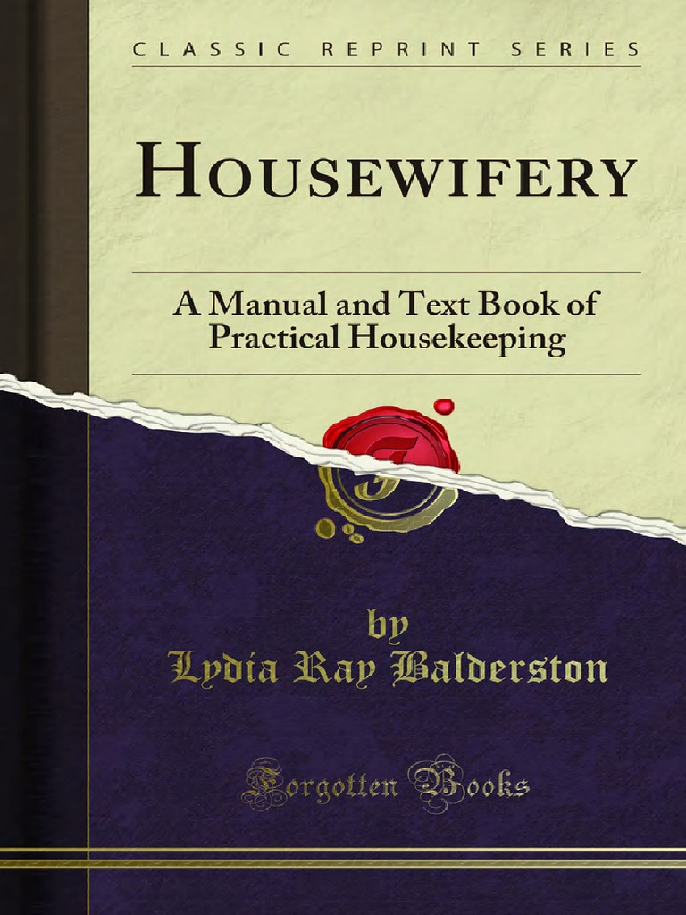 Housewifery a Manual and Text Book of Practical Housekeeping a Manual  1000001426 | Kitchen | Pump