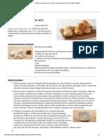 Anpan (Pães Recheados de  pasta de feijão doce)