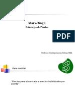 Marketing II, Precios
