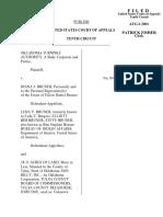 Bruner v. Bruner, 259 F.3d 1236, 10th Cir. (2001)