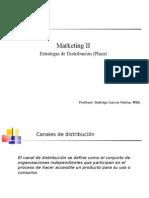 Marketing II, Distribución