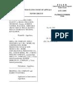 Rutter & Wilbanks v. Shell Oil Company, 10th Cir. (2003)