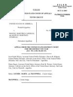 United States v. Martinez-Candejas, 347 F.3d 853, 10th Cir. (2003)