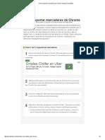 Cómo Exportar Marcadores de Chrome_ 8 Pasos (Con Fotos)