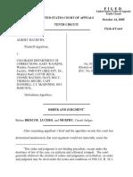 Mathews v. CO Dept. Corrections, 10th Cir. (2005)