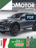 Revista Puro Motor 54 - AUTOS 4X4 Y PICK UPS 2016