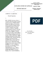 Clarenson v. Owens, 10th Cir. (2006)