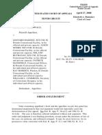 Gruenwald v. Maddox, 10th Cir. (2008)