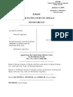 Potts v. Davis County, 551 F.3d 1188, 10th Cir. (2009)