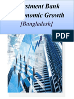 Report on Investment Bank in Bangladesh