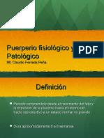 Clase 06 Puerperio Fisiologico y Patologico