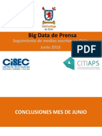 Big Data Prensa Junio 2016