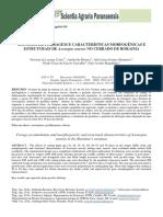 Acúmulo de Forragem e Características Morfogênicas e Estruturais de Axonopus Aureus No Cerrado de Roraima