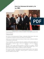 01.05.16 Defenderé los intereses del estado y de sus trabajadores- RMV