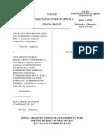 Tri-State Generation v. NM Public Regulation Comm., 10th Cir. (2015)