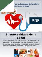 Consejeria Para El Autocuidado de La Salud y Nutricion en El Hogar