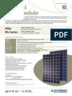 Hyundai 285W Solar Panel