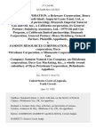 Brumark Corporation, a Delaware Corporation Bruce Steinberg, an Individual Imperial Lease Fund, Ltd., a California Limited Partnership Brumark Imperial Natural Gas and Oil, Inc., a California Corporation, Its General Partner Steinberg Associates, Ltd.--1979 Oil and Gas Program, a California Limited Partnership Brumark Corporation, General Partner Bruce Steinberg, General Partner v. Samson Resources Corporation, an Oklahoma Corporation Dyco Petroleum Corporation, a Minnesota Corporation Premier Gas Company Samson Natural Gas Company, an Oklahoma Corporation Dyco Gas Marketing, Inc., a Wholly Owned Subsidiary of Dyco Petroleum Corporation, 57 F.3d 941, 10th Cir. (1995)