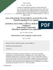 Asia Strategic Investment Alliances, Ltd., Plaintiff-Appellant/cross-Appellee v. General Electric Capital Services, Inc. And Employers Reinsurance Corporation, Defendants-Appellees/cross-Appellants, 166 F.3d 346, 10th Cir. (1998)