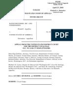 Koch Industries, Inc. v. United States, 603 F.3d 816, 10th Cir. (2010)