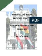 Manual de Funciones Gamlp 2013