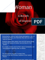 The Woman...  A Breath of Inspiration