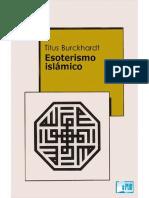 Burckhardt Titus. Esoterismo islamico.pdf