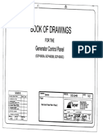 Book of Drawings for the Generator Control Panel Phase-2