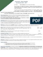 Informacion Tareas Dirigidas 2016-2017
