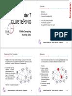Chapter 7 Clustering 4 Slides