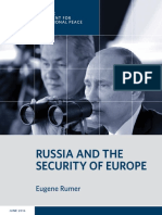 Russia and the Security of Europe