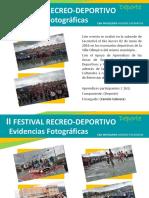 II Festival Recreo Deportivo 2016