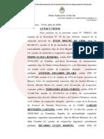 Procesaron al ex ministro de Planificación Julio De Vido