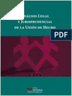 Analisis Legisprudencia Jurisprudencia Union de Hecho
