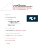 GIV T23 Conferencias de Paz y Tratados. SdN