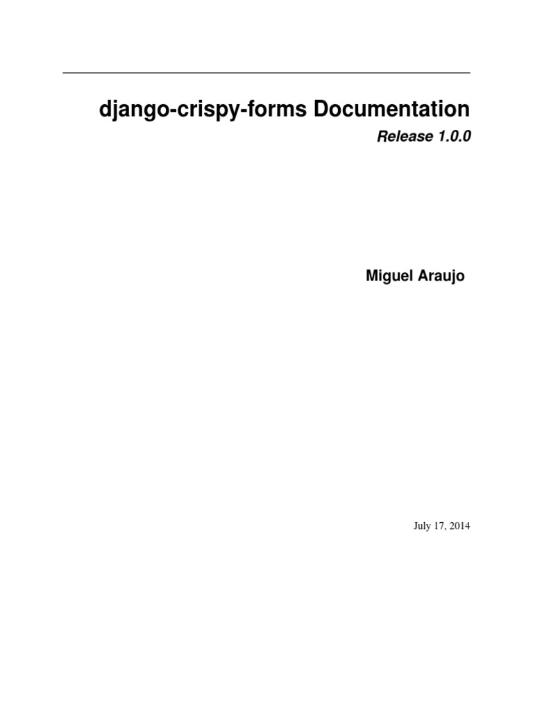 Django Crispy Forms   Html Element   Cascading Style Sheets