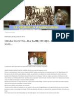 Ile Orunmila Ifagbohunmi_ Obara Eguntan