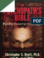 CS Hyatt - Psychopaths Bible