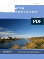 City of Saskatoon Civic Services Survey 2016