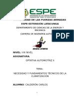 Calderon Sánchez Carlos Fernando, Fundamentos Basicos