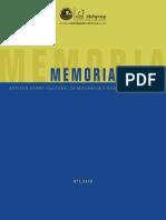 Revista Memoria N° 7 (2010) - IDEHPUCP