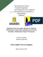 Modelación Física de Cambios Operativos en RDAP