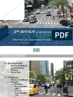 Second Avenue Bike Lane Proposal