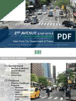 Second Avenue Bike Lane Proposal