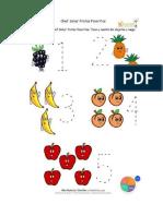 Frutas y Numeros