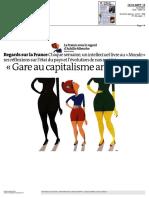 Achille Mbembe Le Monde Sept 2013