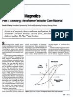 Power Supply Magnetics