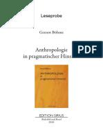 Pragmatik Anthropologie