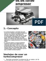 Tipos de Turbo Compresor